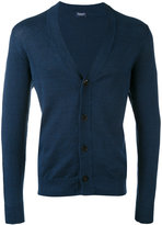 Drumohr V-neck cardigan - men - Linen/Flax/Polyamide - 48