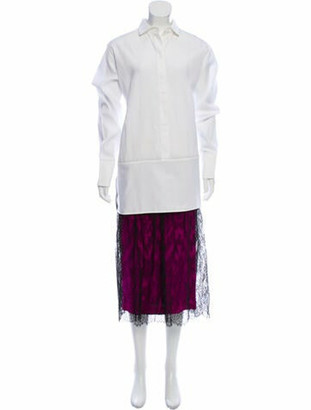 Valentino Long Dress White