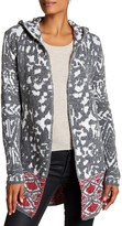 Desigual Hooded Open Faced Cardigan