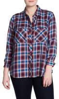 Lucky Brand Plaid Button Down Shirt (Plus Size)
