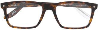 S'nob Square-Frame Tortoiseshell Glasses