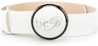Be Blumarine Logo Buckle Belt