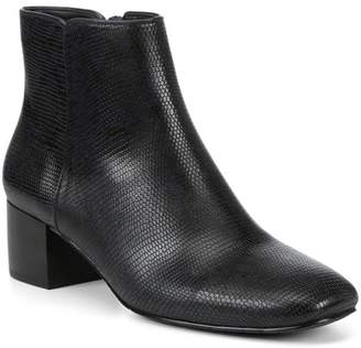 Donald J Pliner Cyrus Lizard Embossed Leather Ankle Boot