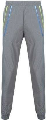 Cottweiler stripped pocket track pants