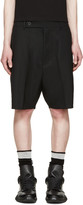 Rick Owens Black Easy Astaires Shorts