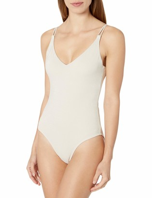 Sunsets Women's Veronica Low V Neck One Piece Swimsuit