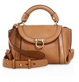 Salvatore Ferragamo Soft Sofia Small Leather Top Handle Bag