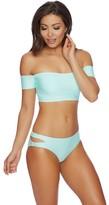 Splendid Sun-sational Solids Cut Out Bikini Bottom
