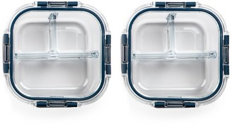 Core Home Sapphire 24 oz. Glass Food Storage Container - Set of 2