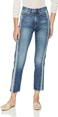 Hudson Women's Zoeey HIGH Rise Straight Ankle 5 Pocket Jean