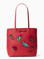 Kate Spade On purpose zip-top leather tote