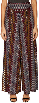 ABS by Allen Schwartz Harvey Geometric Print Wide Leg Pant