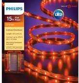 Philips 135ct Halloween LED Flat Rope Lights - Orange