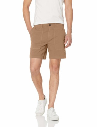 Goodthreads Men's 7 Inch Inseam Porkchop Pocket Stretch Canvas Short Shorts