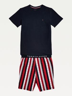 Tommy Hilfiger Logo Cotton Jersey Pyjama Set