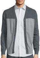 Claiborne Long-Sleeve Block Cardigan