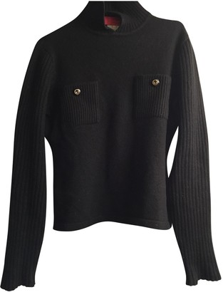 Ungaro Black Wool Knitwear