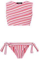 Tabula Rasa - Ibis Striped Knitted Bikini - Pink