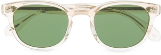 Oliver Peoples Clear Frame Sunglasses