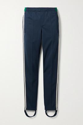 adidas + Wales Bonner Lovers Rock Crochet-trimmed Tech-jersey Slim-leg Stirrup Pants - Navy
