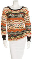 M Missoni Patterned Long Sleeve Tunic