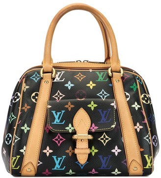 Louis Vuitton x Takashi Murakami 2007 pre-owned Monogram Multicolour Noir Priscilla tote bag