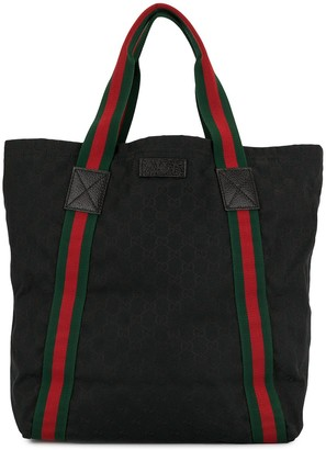 Gucci Pre-Owned Shelly Line GG tote