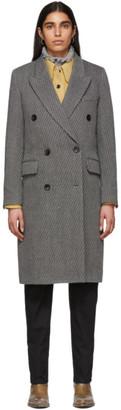 Isabel Marant Grey Harry Coat