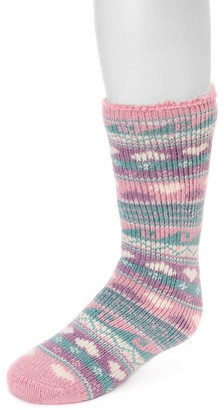 Muk Luks Kid's Heat Retainer Thermal Socks