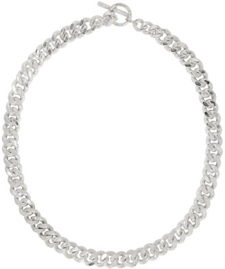 Pearls Before Swine Silver Large Sliced Link Necklace