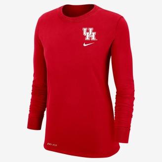 Nike Women's Long-Sleeve T-Shirt College Dri-FIT (Houston)