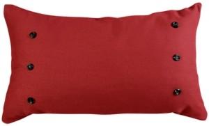HiEnd Accents Prescott 21x34 Red Pillow