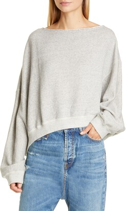R 13 Patti Wide Neck Sweatshirt