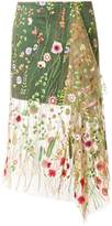 Marques Almeida Marques'almeida embroidered tulle skirt