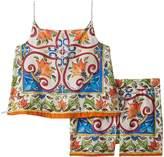 Dolce & Gabbana Dress No Sleeve+Pants Girl's Active Sets