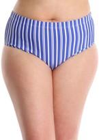 Lysa LYSA Striped Bikini Swim Bottom Plus Size - Jen
