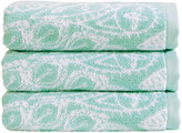 Christy Secret Garden Towel - Aqua - Bath Towel