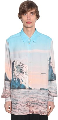 Ambush Iceberg Printed Rayon Shirt