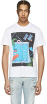 Diesel White T-Joe-NM Pool T-Shirt