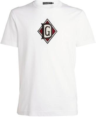 Dolce & Gabbana Dna Logo T-Shirt