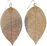 GHome2 Filigree Leaf Earrings