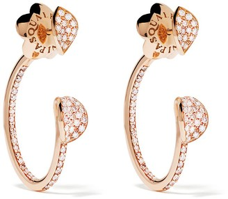 Pasquale Bruni 18kt Rose Gold Diamond Earrings
