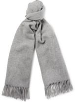 Acne Studios Canada Fringed Mélange Virgin Wool Scarf