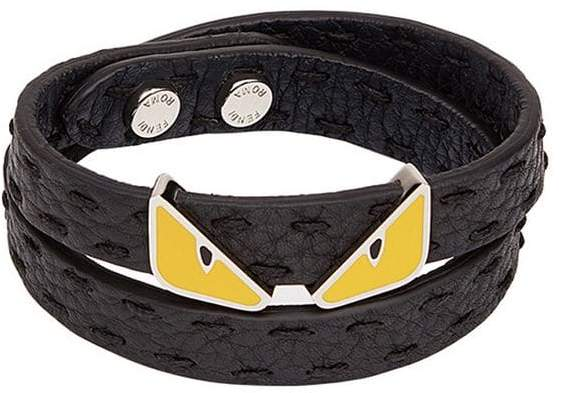 Fendi Bag Bugs wrap bracelet