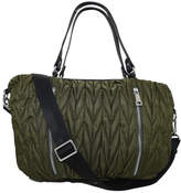 INZI Chevron Quilted Shoulder Bag