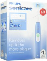 Philips Sonicare HX6211/46 2 Series Plaque Control Rechargeable Electric Toothbrush, Steel Blue