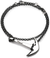 Miansai Polished Silver Anchor Chain Bracelet