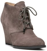 Franco Sarto Women's 'Lennon' Lace Up Wedge Bootie