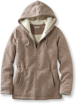 L.L. Bean Women's Sherpa-Lined Quilted Jacket