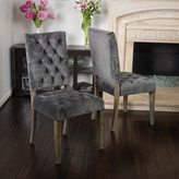 Christopher Knight Home Saltillo Velvet Dining Chair (Set of 2)